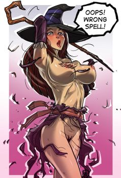 Dragon's Crown Sorceress by Ganassa