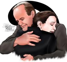 Frasier and Lilith by MicahJo