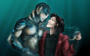The shape of water by yuly627