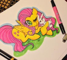 Fluttershy Request by TermanianStar