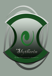 Slytherin Badge by Emma-O-Lantern