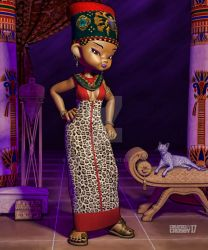 Kinara's Fashion: Imani's Leopard Print by falsedelic