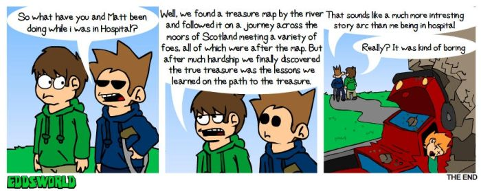 Ewcomics No.80 - Accident Pt.6 by eddsworld
