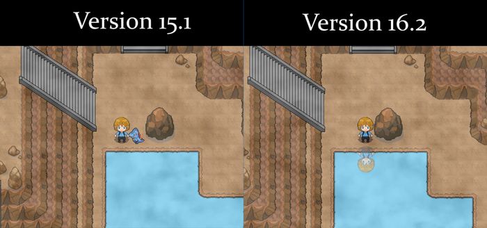 First difference between Version 15.1 and 16.2 by Jephed215