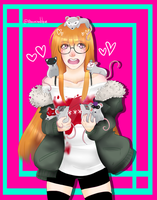 Futaba and the Phantom SQUEAKS by Abominableve