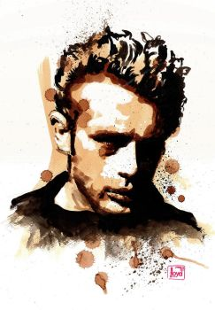 James Dean by lloyd-art