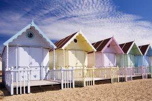 Beach Cottages 8227866 by StockProject1