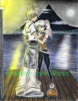 2H2F~ Roxas and Shannel by MarieJaneWorks