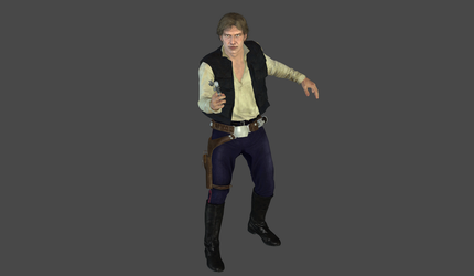 Han Solo ANH mesh mod by Lopieloo