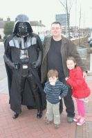 Darth Vader and Friends by mikedaws