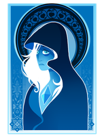 Blue Diamond by runeowl