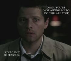 Castiel by BlackSapphireFlame