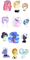 MLP NG: Side Character Ships by PurfectPrincessGirl