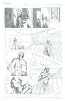 Comic Book Art Hellboy Page 2 by GDEAN