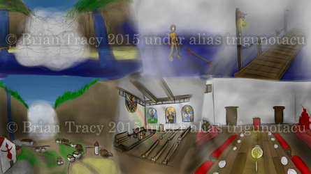 Foggy Fjord Concepts by TrigunotacuRedux