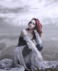 Lonely in the fog by CindysArt