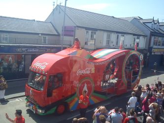 Coco-cola van for the Olympics! by Zeynep13