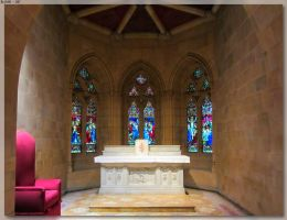 St Mary's Cathedral Crypt 2 by JohnK222