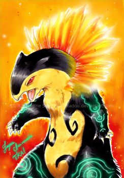 Typhlosion by Nadou