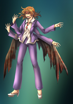 Kip Form #412 - Withered Angel by LordWolx
