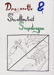 Dragonette and Swallowtail Snapdragon by 1951-VampHollow