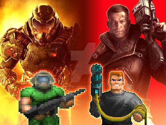 The Kings of FPS by FrancoTieppo