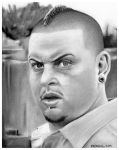 Rodney Rush as Combo on BREAKING BAD by Doctor-Pencil