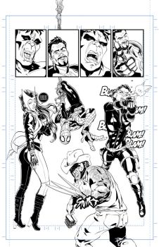 Avengers Assemble #9 tryout page 10 A by 122476