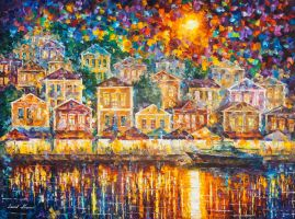 The Place For Dreams by Leonid Afremov by Leonidafremov