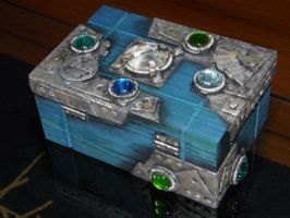 Bejeweled box - back by XofHope