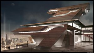 architecture sketch by Min-Nguen