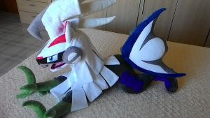 pokemon plush-Silvally plush by Masha05