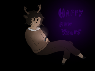 New Years Doodle by SulfuricCherry