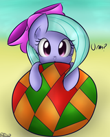 Filly Flitter on ball. by FreeFraQ