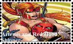 Artemis of Bana-Mighdall and Red Hood Shipper by WOLFBLADE111