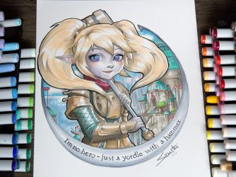 Poppy - Keeper of the Hammer by Tofusenshi