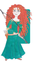 Disney Princesses: Merida by TheGirlOnXboxLive