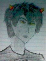 This is karkat by SketchPaper