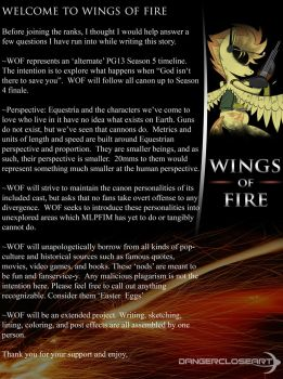 Wings of Fire Foreword by DangerCloseArt