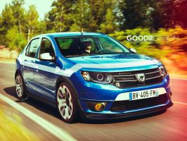 Dacia Logan Gordini by GoodieDesign