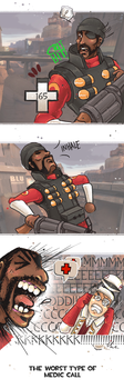 Demoman medic call by UmmuVonNadia