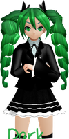 [MMD] MG Dark Angel Miku Download by megpoid625
