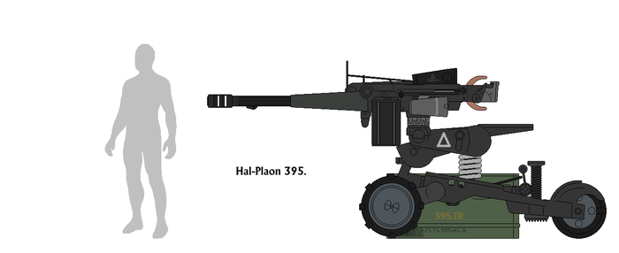 Hal-Plaon 395. (to scale) by Sapphire-industries