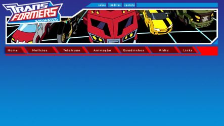 Layout site TF Animated BR 01 by odairjr