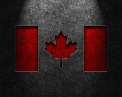 Canadian Flag Stone Texture by thelearningcurve-da