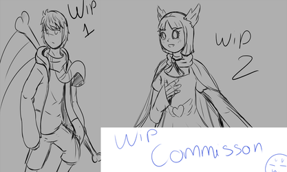 WIP commission by Azureanothertale