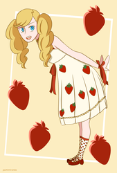 Strawberry Dress by pachimiranda