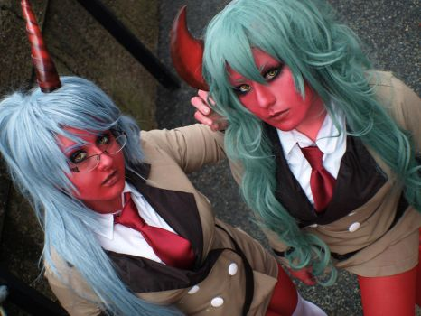 Scanty and Kneesocks by RaquelQuiros
