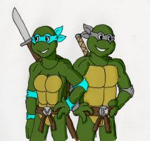 TMNT_Good Ol' Days by DNLnamek01