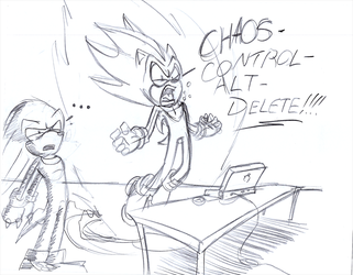 CHAOS CTRL ALT DEL by Nomad-The-Hedgehog